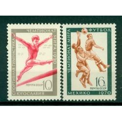 URSS 1970 - Y & T n. 3629/30 - Sports
