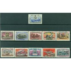 URSS 1958 - Y & T n. 2077/88 - Centenaire du Timbre