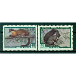 URSS 1959 - Y & T n. 2182/83 - Animaux divers