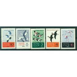 URSS 1962 - Y & T n. 2609/13 - Oiseaux divers