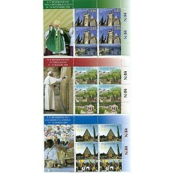 "Vatican 2010 - Mi. n. 1683KB/1685KB - ""Viaggi del Papa"" Benoît XVI"