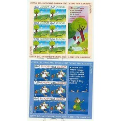Vatican 2010 - Mi. n. 1669KB/1670KB - EUROPA CEPT Children Books