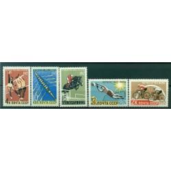 URSS 1962 - Y & T n. 2529/33 - Championnats du monde de sports d'été