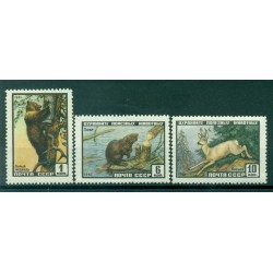 URSS 1961 - Y & T n. 2381/83 - Protection de la nature