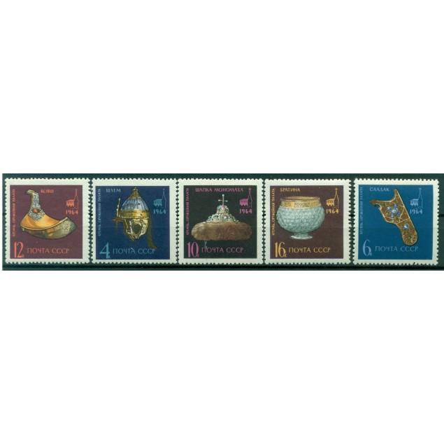 URSS 1964 - Y & T n. 2904/08 - Trésors du palais des armures