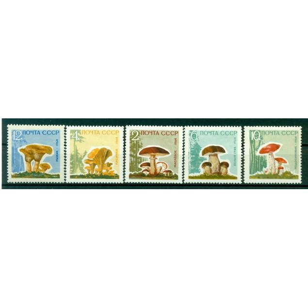 URSS 1964 - Y & T n. 2880/84  - Funghi