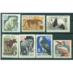 USSR 1964 - Y & T n. 2821/27 -  Zoological Garden of Moscow