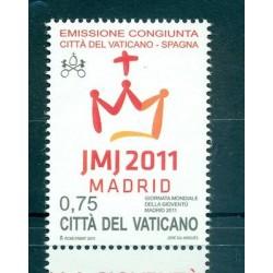 Vatican 2011 - Mi. n. 1716 - Journée mondiale de la Jeunesse