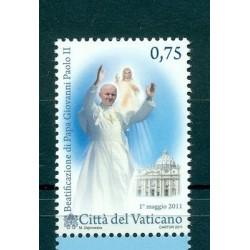 Vatican 2011 - Mi. n. 1699 - Béatification de Pape Jean Paul II