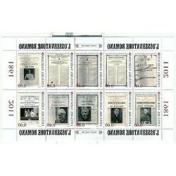"Vatican 2011 - Mi. n. 1700/1709KB - ""Osservatore Romano"""