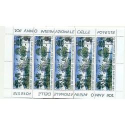 Vatican 2011 - Mi. n. 1710/1711 - EUROPA CEPT Année internationale des Forêts