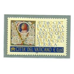 F. PETRARCA 700th Ann. - VATICAN 2004