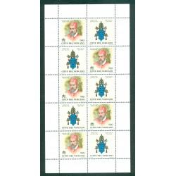 Vatican 1999 - Mi. n. 1269/1276 KB - Papes et Années Saintes du 1300 au 2000 II