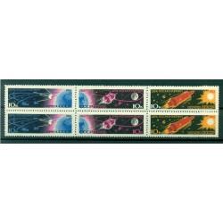 URSS 1963 - Y & T n.2656/61 - Journée  du Cosmos