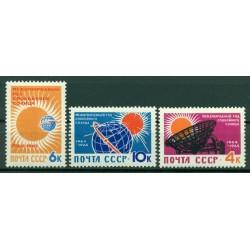 URSS 1964 - Y & T n. 2768/70 - Année géophysique 1964/65