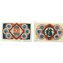 OLD GERMANY EMERGENCY PAPER MONEY - NOTGELD Bielefeld 1921 50 Pf N
