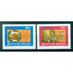 Vatican 1989 - Mi. n. 984/987 - Congrès Eucharistique Int.