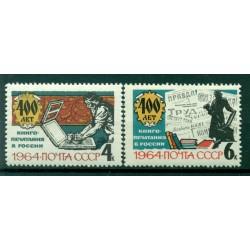 URSS 1964 - Y & T n. 2788/89 - Imprimerie en Russie