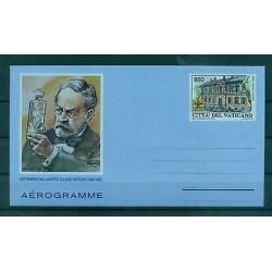 VATICAN 1995 - Biglietto Postale Aerogramma LOUIS PASTEUR
