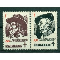 URSS 1963 - Y & T n. 2677/78 - Compositori celebri