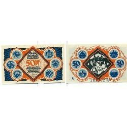 OLD GERMANY EMERGENCY PAPER MONEY - NOTGELD Bielefeld 1921 50 Pf R