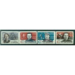 USSR 1964 - Y & T n. 2785/87A - Heroes of the Patriotic War