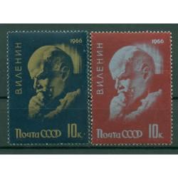 URSS 1966 - Y & T n. 3078/79 - Vladimir Lenin