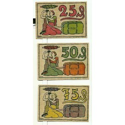 OLD GERMANY EMERGENCY PAPER MONEY - NOTGELD Blumenthal 1921