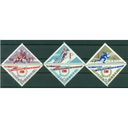 USSR 1966 - Y & T n. 3075/77 - 2nd winter sports spartakiads