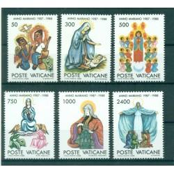 Vatican 1987 - Mi. n. 907/910 - Saint Augustin