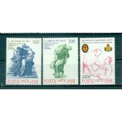 Vatican 1986 - Mi. n. 894/896 - Saint Camille de Lellis & Saint Jean de Dieu