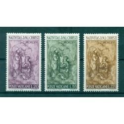 Vatican 1966 - Mi. n. 514/516 - Noël