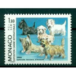 Monaco 1986 - Y & T  n. 1530 - Exposition canine internationale de Monte-Carlo