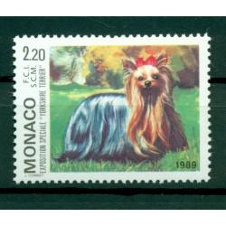 Monaco 1989 - Y & T  n. 1676 - Exposition canine internationale de Monte-Carlo