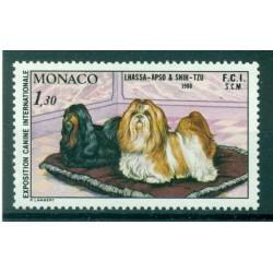 Monaco 1980 - Y & T  n. 1232 - Exposition canine internationale de Monte-Carlo