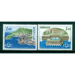 Monaco 1978 - Y & T  n. 1136/37 - Centre de congrès de Monte-Carlo