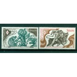 Monaco 1984 - Y & T  n. 1435/36 - Croix-Rouge monégasque
