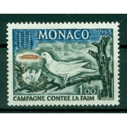 Monaco 1963 - Y & T  n. 611 - Campagne mondiale contre la faim