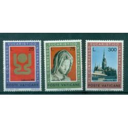 Vatican 1973 - Mi. n. 615/617 - Int. Eucharistic Congress