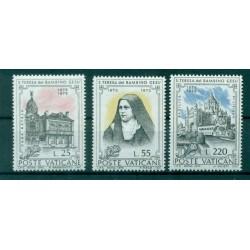 """Vaticano 1973 - Mi. n. 618/620 - """"S. Teresa del Bambin Gesù"""""""