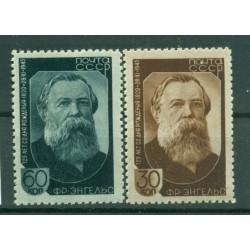 URSS 1945 - Y & T n. 988/89 - Friedrich Engels