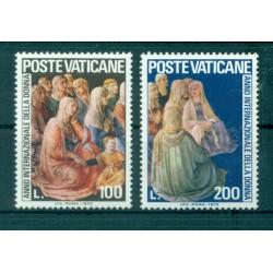 Vatican 1975 - Mi. n. 670/671 - Année de la Femme