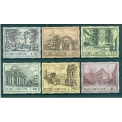 Vatican 1976 - Mi. n. 689/694 - Fontaines