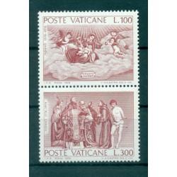 Vatican 1976 - Mi. n. 675/677 - Le dernier Judgement