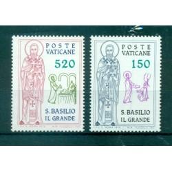 Vatican 1980 - Mi. n. 759/763 - Saint Benoît de Nursie
