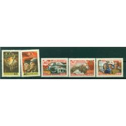 URSS 1958 - Y & T n. 2019/23 - Armée Rouge