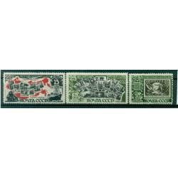 URSS 1946/47 - Y & T n. 1006/08 - Timbre soviétique