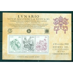 Vatican 1982 - Mi. n. BL 4 - Réforme du Calendrier grégorien