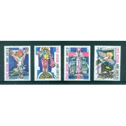 Vaticano 1983 - Mi. n. 816/819 - Anno Santo