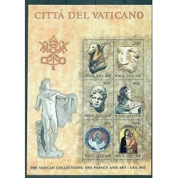 ART ANTIQUE - ANCIENT ART VATICAN CITY 1983 The Vatican Collection block